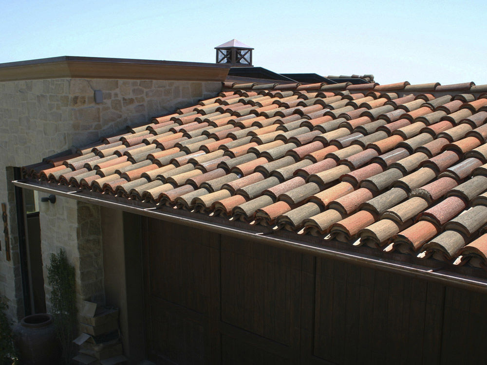 Clay tile asphalt shingles sr waterproofing roofing for Clay tile roofs